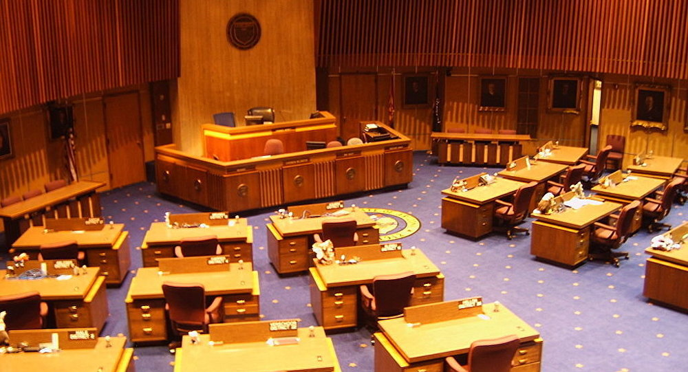 Arizona State Senate Chamber