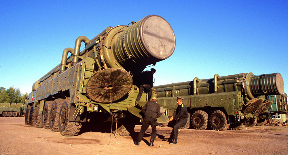 RSD-10 mobile missile launcher