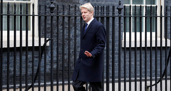 Jo Johnson arrives at 10 Downing Street, London, Britain January 9, 2018