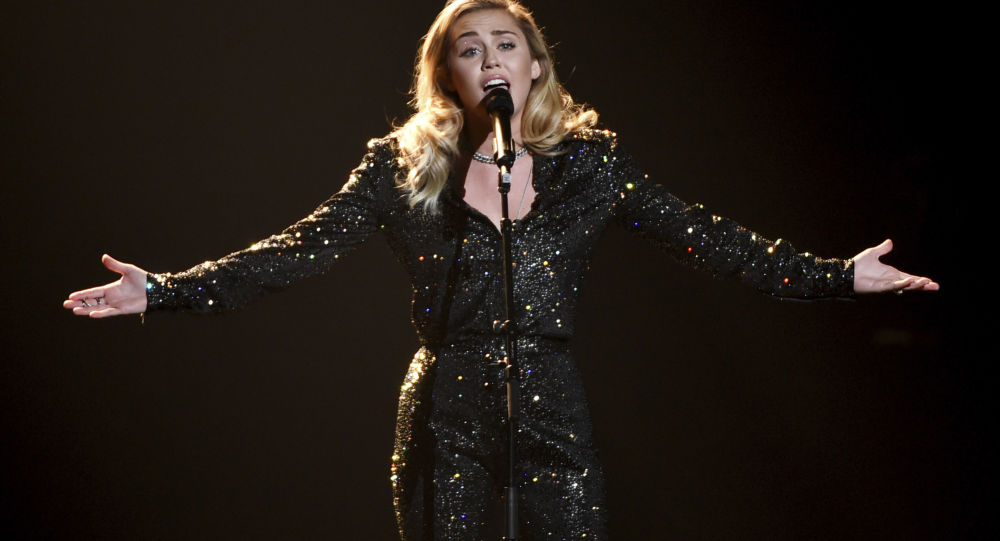Miley Cyrus performs onstage at the 2018 MusiCares Person of the Year tribute honoring Fleetwood Mac at Radio City Music Hall on Friday, Jan. 26, 2018, in New York.