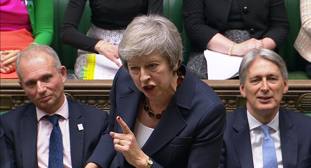 Huge blow to May as two Brexit-backing ministers quit the Cabinet