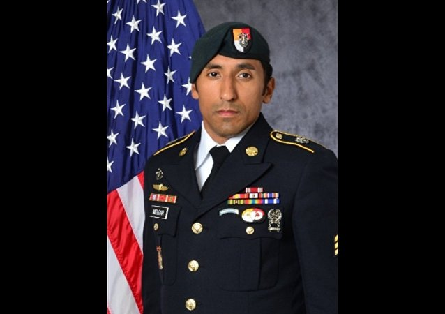 US Army Green Beret Staff Sergeant Logan Melgar.