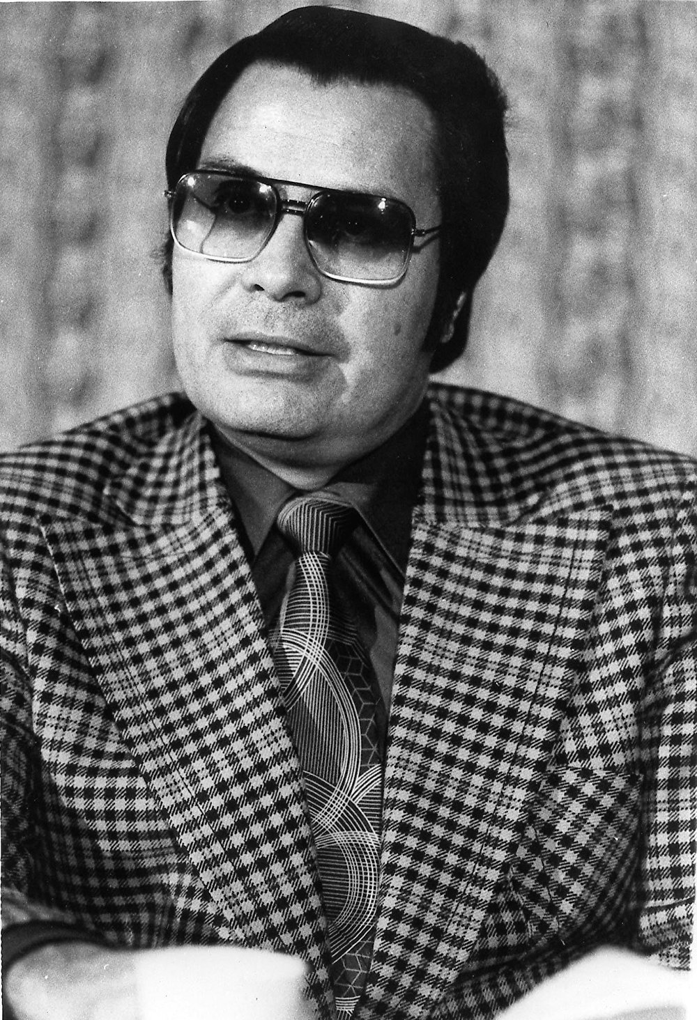 The Reverend Jim Jones, who persuaded more than 900 people to commit suicide at Jonestown