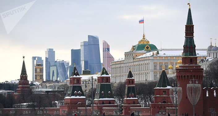 Moscow, Kremlin view
