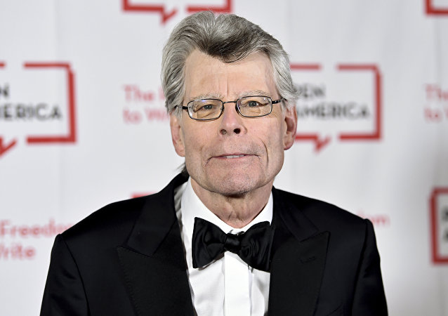PEN America literary service award recipient Stephen King attends the 2018 PEN Literary Gala at the American Museum of Natural History on 22 May 2018, in New York