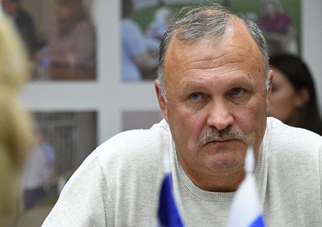 Valeriy Butin, the father of Russian citizen Maria Butina.