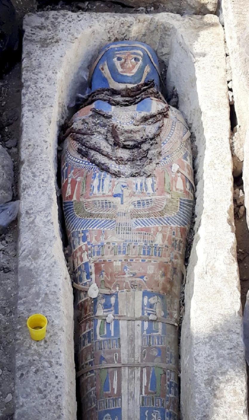 Mummy found in Cairo
