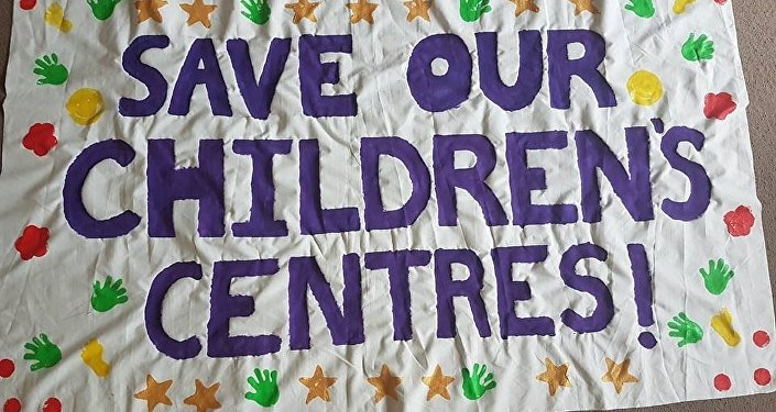 A national campaign has been set up in the UK to try and stop the closure of children's centres