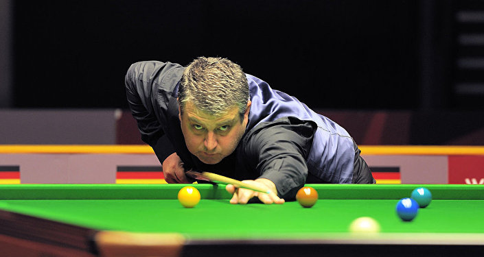 Rod Lawler at Snooker German Masters