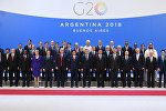 G20 leaders pose for a family photo during the G20 summit in Buenos Aires, Argentina November 30, 2018.