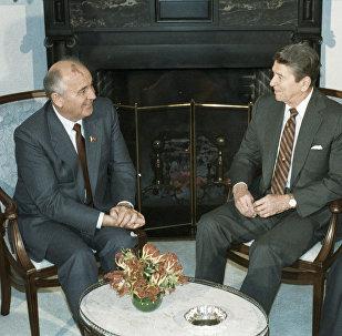 Mikhail Gorbachev in U.S.