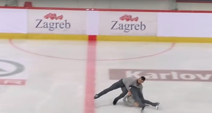 Ashley Cain & Timothy LeDuc USA Free Skate 2018 Golden Spin of Zagreb