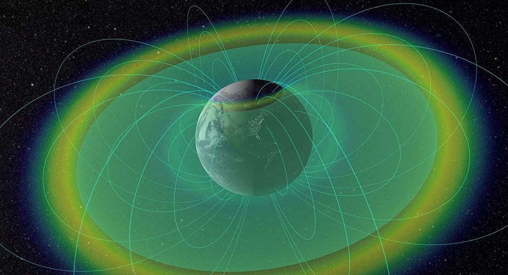 Two donuts of seething radiation that surround Earth, called the Van Allen radiation belts, have been found to contain a nearly impenetrable barrier that prevents the fastest, most energetic electrons from reaching Earth