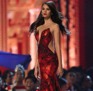 Miss Philippines Catriona Gray During the Miss Universe 2018 Contest in Thailand
