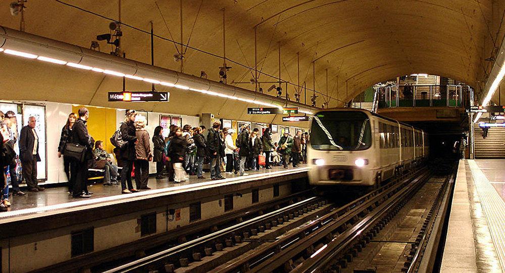Metro de Marseille - Castellane