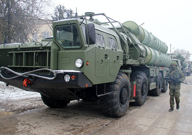 The Triumph S-400 division came on duty in the Crimea