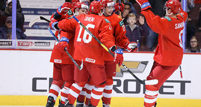 Russia vs. Slovakia at 2019 IIHF World Junior Championship