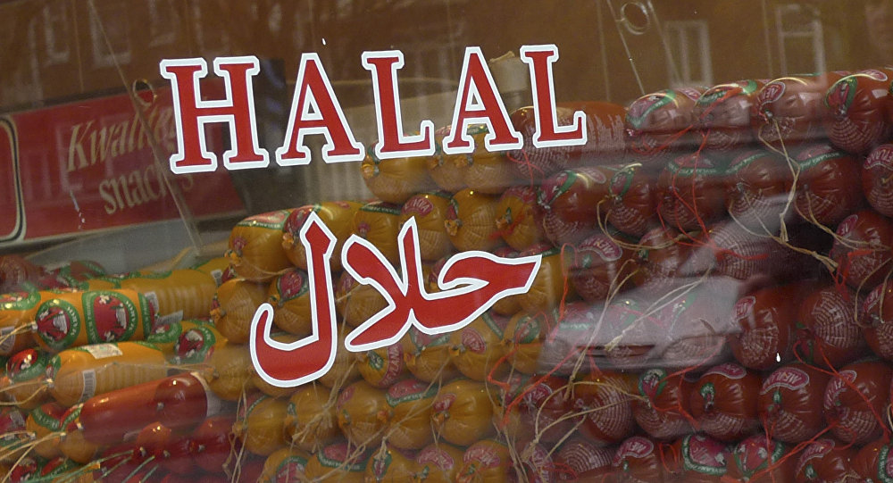 Halal butcher store in Amsterdam, Netherlands, Thursday March 31, 2011.
