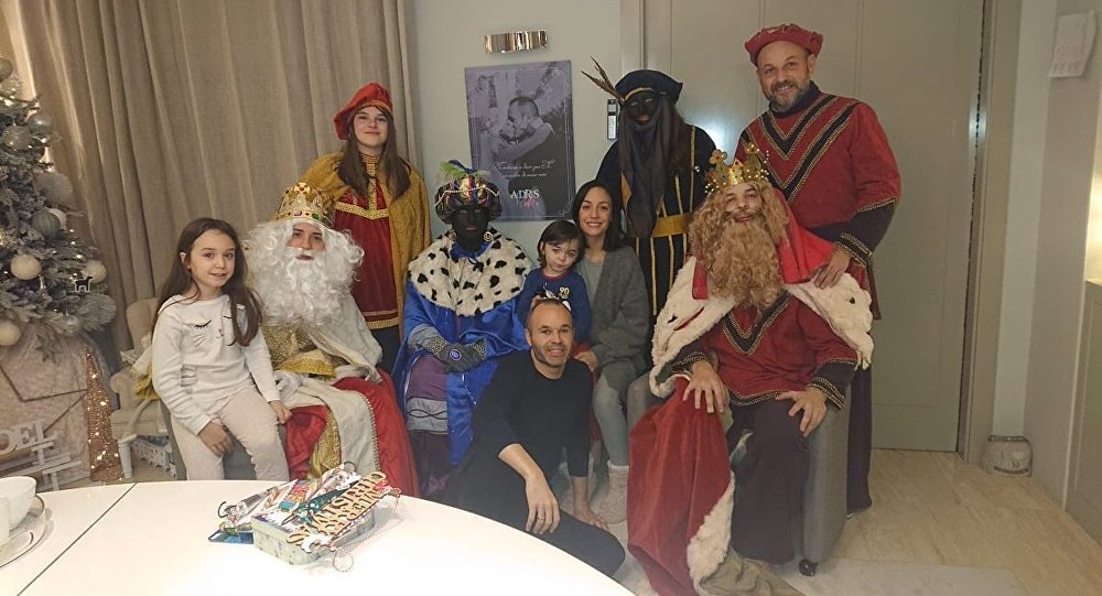 Iniesta Sparks Outrage With Blackface Photo