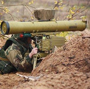 Anti-tank missile system Konkurs