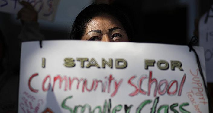LOS ANGELES TEACHERS STRIKE