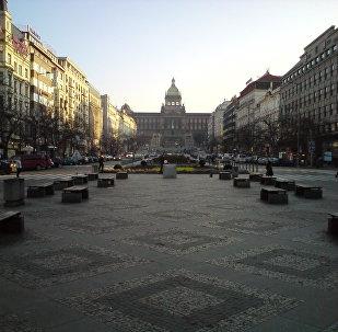 Wenceslas Square, Prague (File photo).