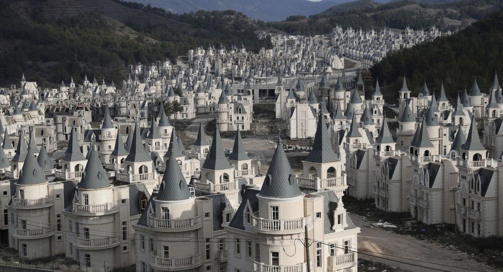 'Disney' Desolation: A Tour of Luxury Turkish Ghost Town