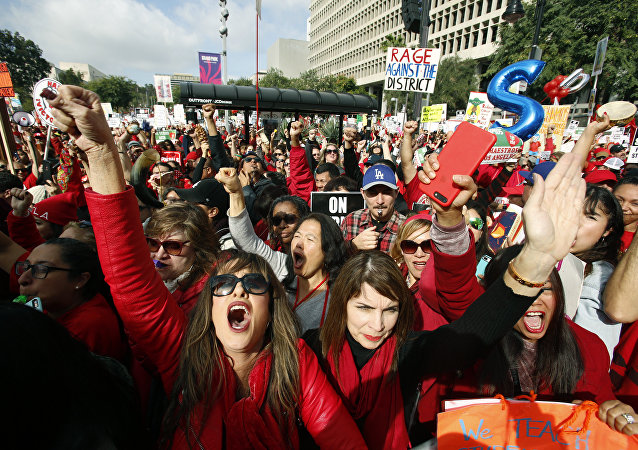 LOS ANGELES TEACHERS STRIKE