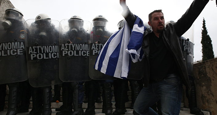 Protests in Athens