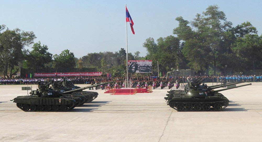 WATCH Laos Show Off New Russian-Made Military Equipment During Parade