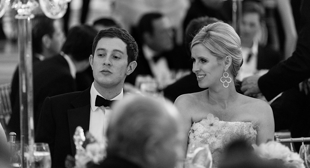 James Rothschild, left, and Nicky Rothschild attend the Fashion Institute of Technology Annual Gala benefit at The Plaza on Monday, May 9, 2016, in New York
