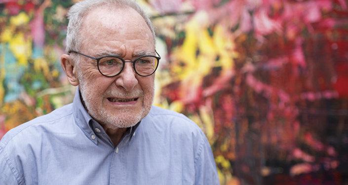 German modern art painter Gerhard Richter, pictured in 2017