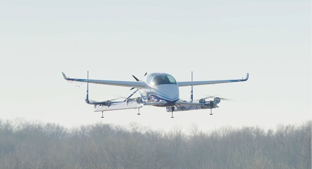 Boeing Autonomous Passenger Air Vehicle Completes First Flight