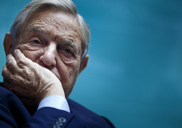 George Soros, Chairman of Soros Fund Management, listens during a seminar titled Charting A New Growth Path for the Euro Zone at the annual International Monetary Fund and World Bank meetings September 24, 2011 in Washington, DC.