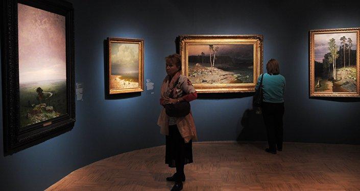 Exhibition of Arkhip Kuindzhi at the Tretyakov Gallery