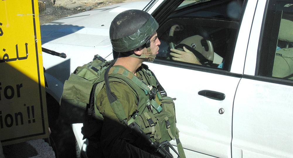 The Israeli-Palestinian frontier