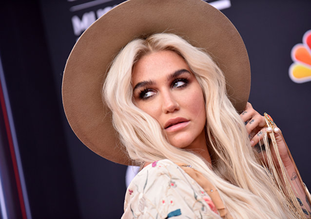 Singer/songwriter Kesha attends the 2018 Billboard Music Awards 2018 at the MGM Grand Resort International on May 20, 2018, in Las Vegas, Nevada.