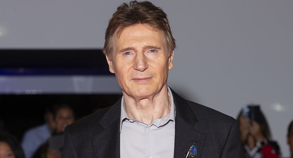 Irish actor Liam Neeson arrives at the premiere of 'Widows' at the Toronto International Film Festival in Toronto, Ontario, September 8, 2018