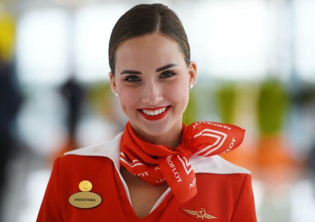 Sky-High Glamour: Russian & Soviet Air Hostesses
