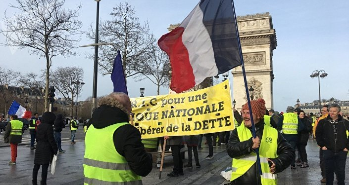 Yellow Vests Protests Continue for 13th Week