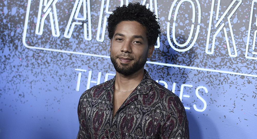 Jussie Smollett attends Carpool Karaoke: The Series launch event at the Chateau Marmont Hotel on Monday, Aug. 7, 2017, in Los Angeles.