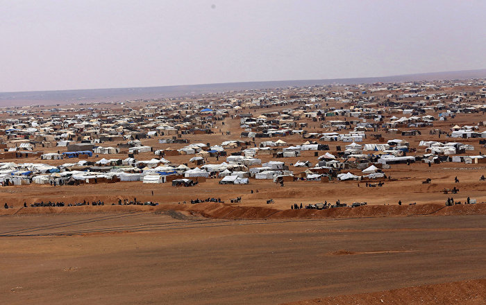 Over 360 Refugees Left Rukban Camp for Damascus-Controlled Area