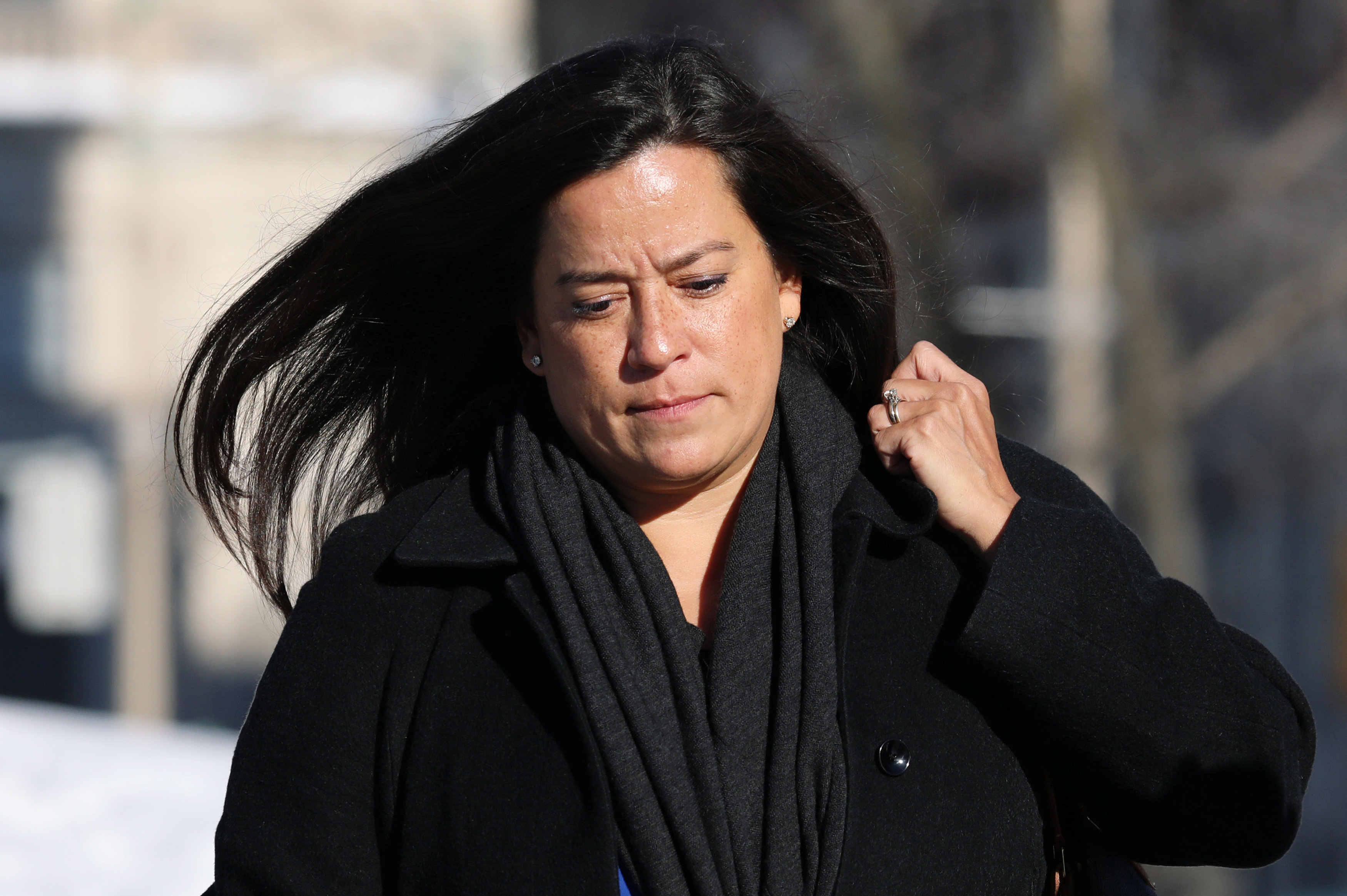 Jody Wilson-Raybould, former Canadian justice minister, walks on Parliament Hill in Ottawa, Ontario, Canada February 19, 2019