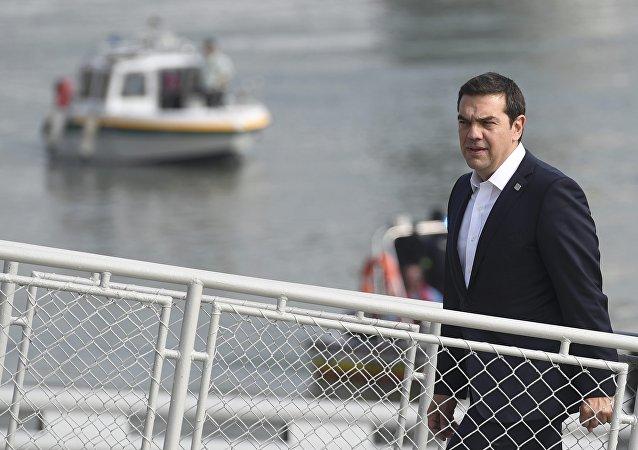 Greece Prime Minister Alexis Tsipras