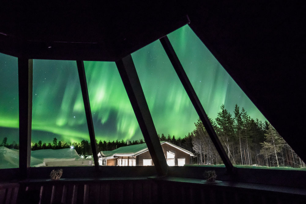 UFO, Tornado or Mushroom Cloud: Mesmerising View of Finland's Northern Lights