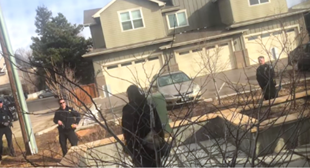USA police launch probe after black man held for cleaning his yard