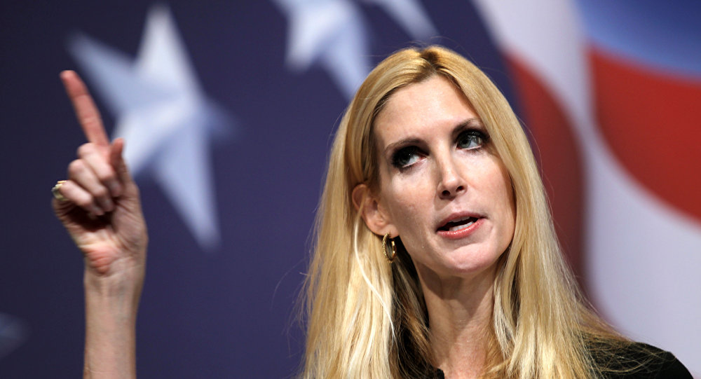 Conservative author Ann Coulter