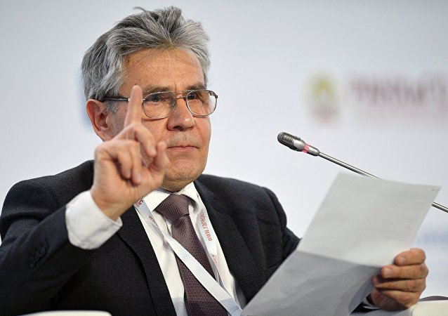 President of the Russian Academy of Sciences (RAS) Aleksander Sergeev