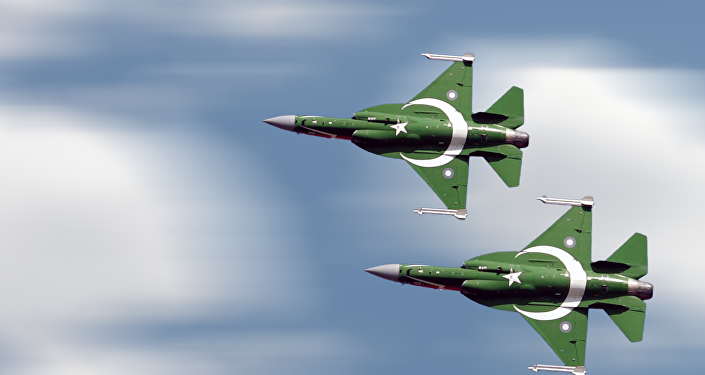 "Pakistan's PAK JF-17 Thunder, also called CAC FC-1 Xiaolong or ""Fierce Dragon, a lightweight, single-engine, multi-role combat aircraft developed from a joint venture between the Pakistan Aeronautical Complex (PAC) and the Chengdu Aircraft Corporation (CAC) of China."