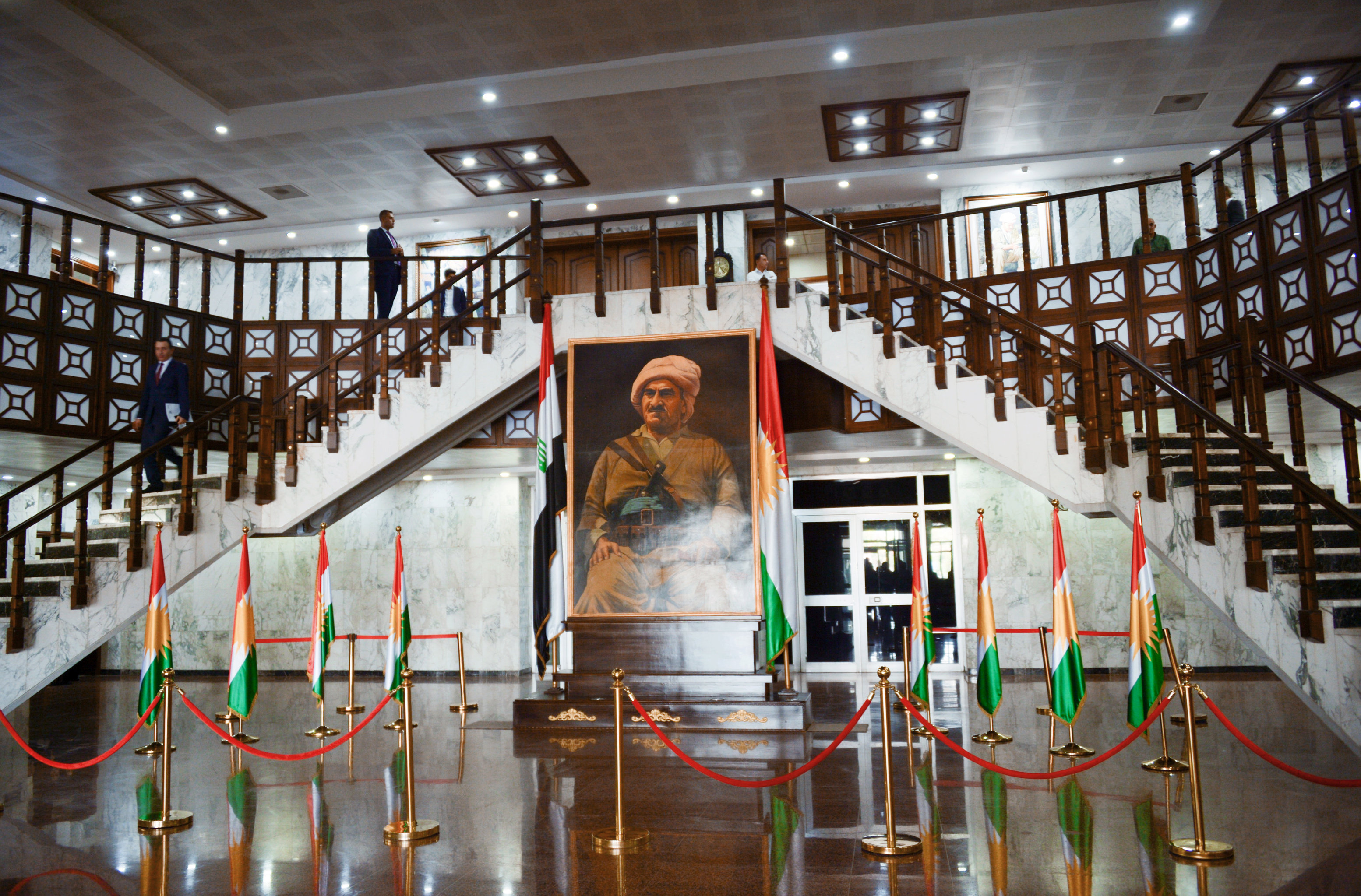 The Iraqi Kurdistan parliament building